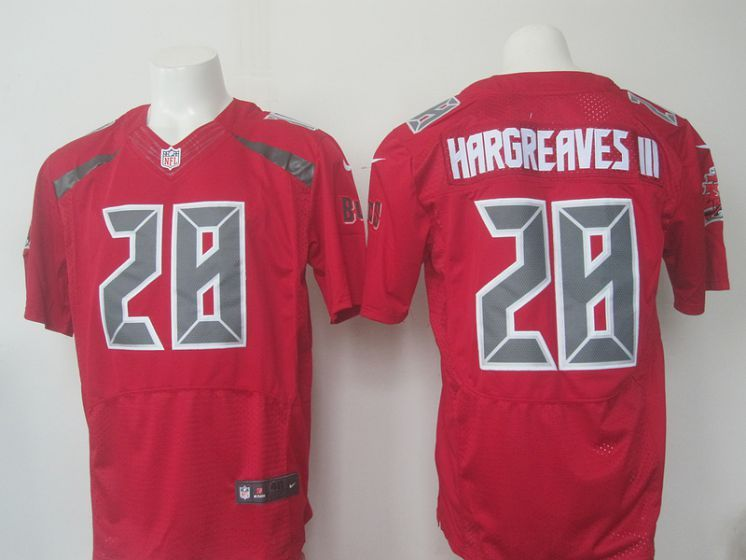 Cheap 2016 Men Tampa Bay Buccaneers 28 Hargreaves III red Nike NFL Elite  for sale