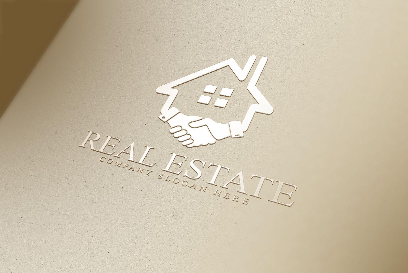 Real Estate Logo1 by CreativeDezing on creativemarket