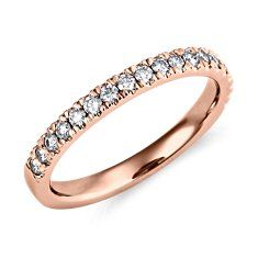I love the rose gold