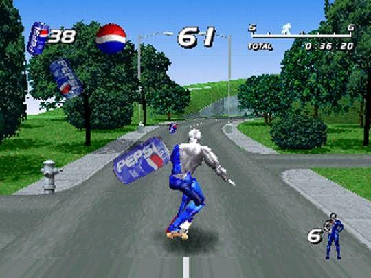 Pepsiman Screenshot V Games Pepsi Man Gamer Life