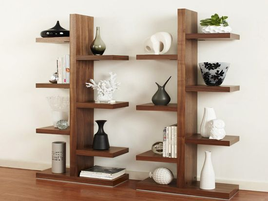 Brosna bookcase natural life pinterest trees for Corner tree bookcase