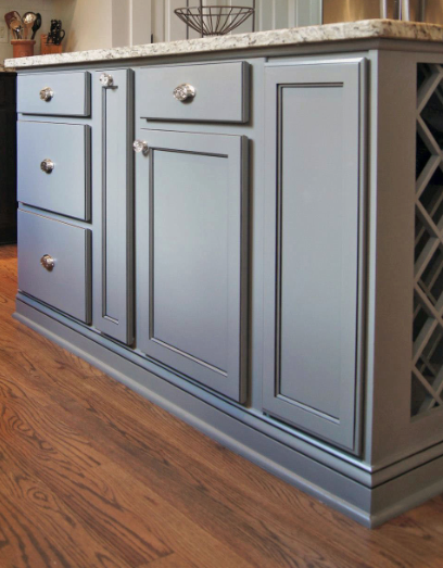 Blog Talk Does your quarter round match your cabinets ...