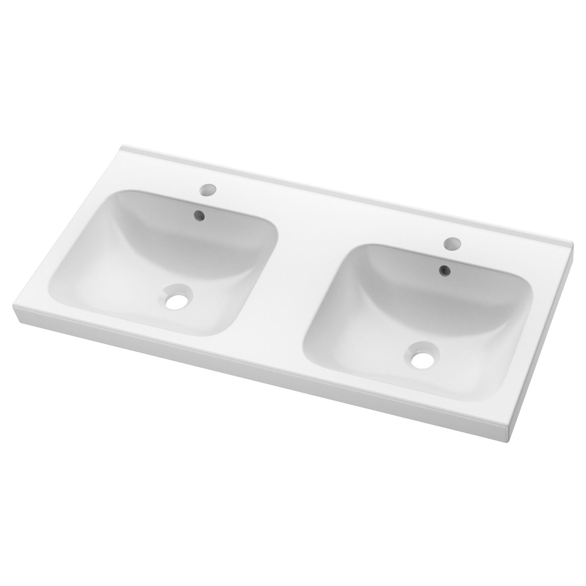 ODENSVIK Double Wash Basin 100x49x6 Cm