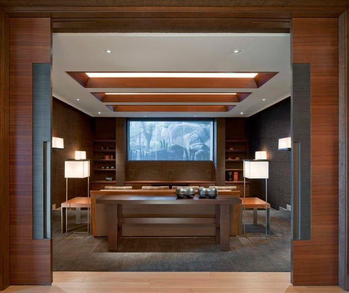 Salas De Cine En Casa: Casa De Lujo En Paradise Valley, Arizona Por Swaback