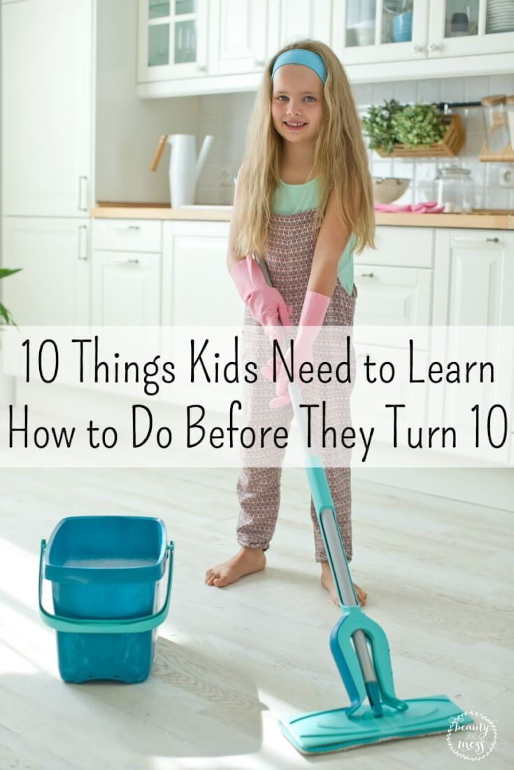 Life Skills 10 Things Kids Need to Learn How to Do Before They Turn 10 is part of Teaching life skills, Chores for kids, Life skills, Teaching life, Kids and parenting, Helping kids - Teaching life skills to our children helps build the foundation for adulthood  Don't miss these 10 things every child should know how to do before turning 10