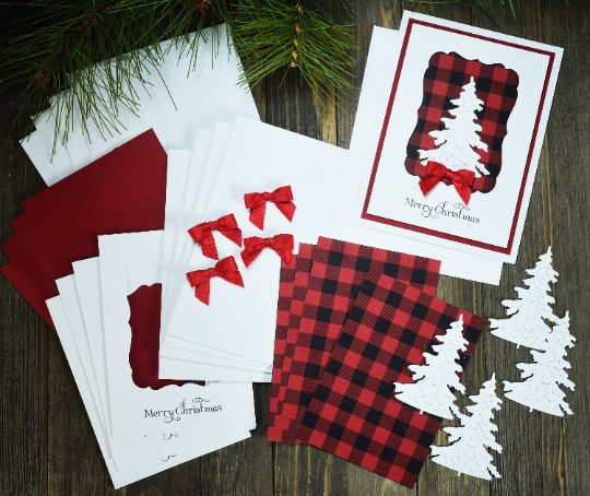 diy christmas card kit in 2020  diy christmas cards