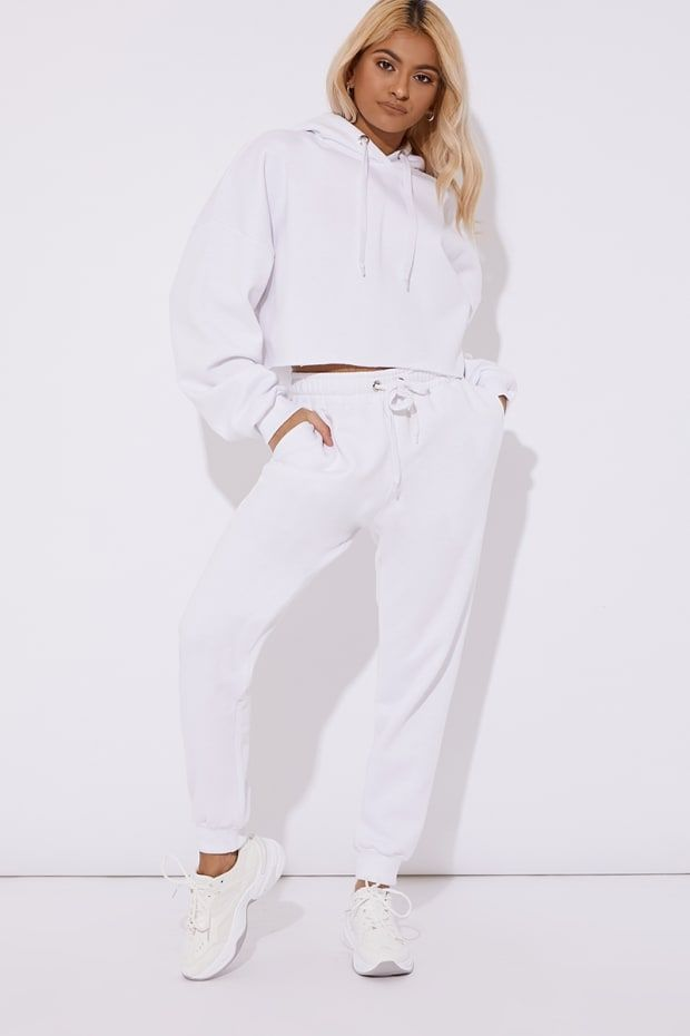 47bfab42c9c Petra white oversized joggers in 2019