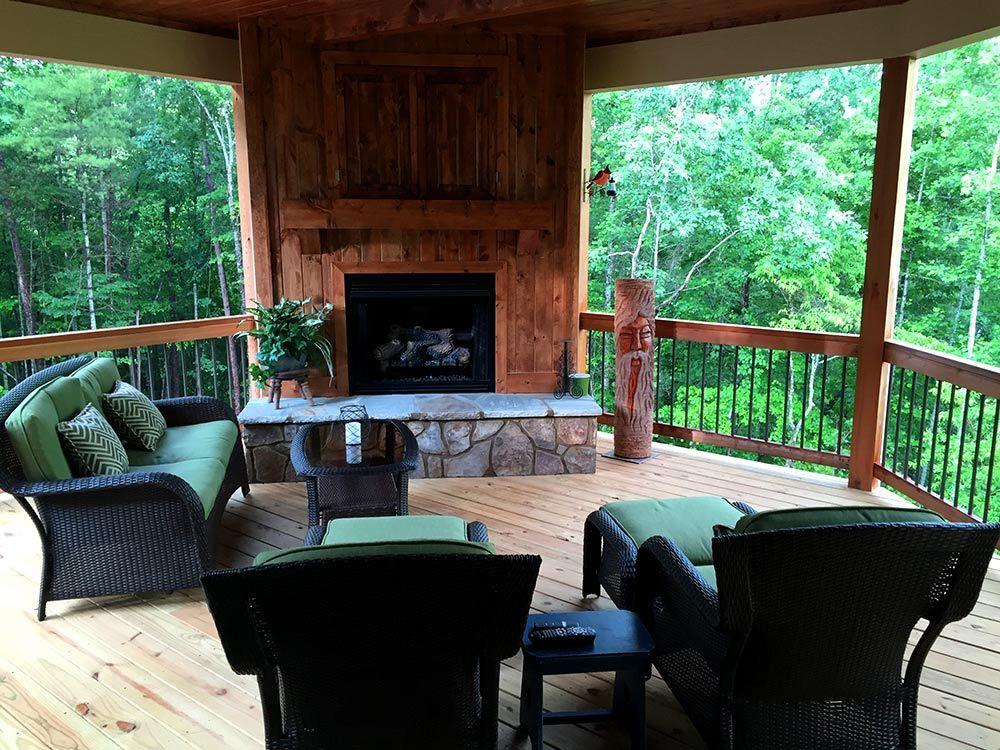 Rustic Mountain House Floor Plan with Walkout Bat   Walkout ... on ranch house deck designs, beach house deck designs, lake house deck designs,