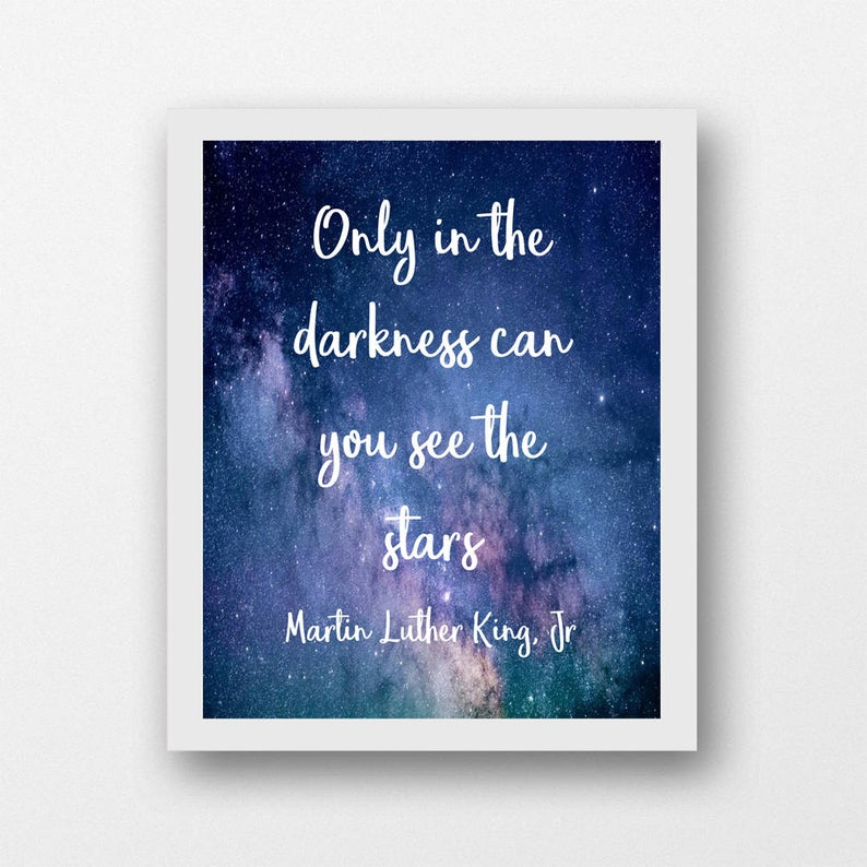 Martin Luther King Quote Printable Wall Art Civil Rights Etsy In 2020 Printable Wall Art Martin Luther King Quotes Photo Wall Art