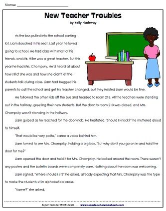 Worksheet Super Teacher Worksheets Reading 1000 images about reading and writing super teacher worksheets on pinterest easter poems synonyms antonyms magic tre