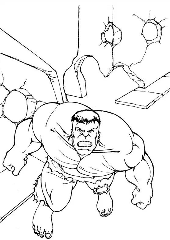 30 Desenhos Do Hulk Para Colorir E Imprimir Desenho Do Hulk