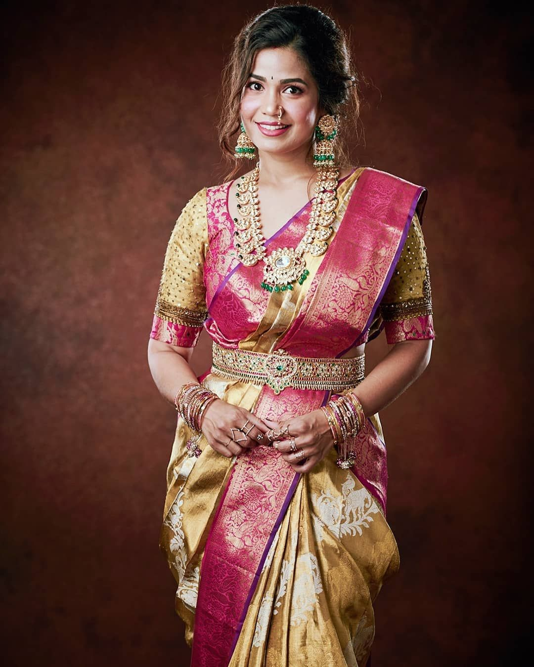 Photo of saree look