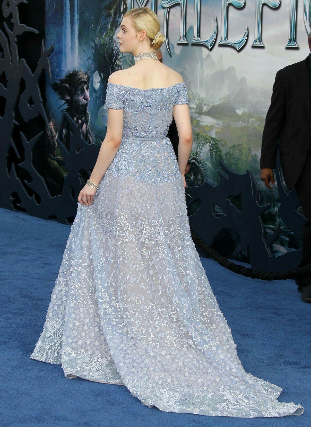 Elle Fanning Maleficent World Premiere In Los Angeles