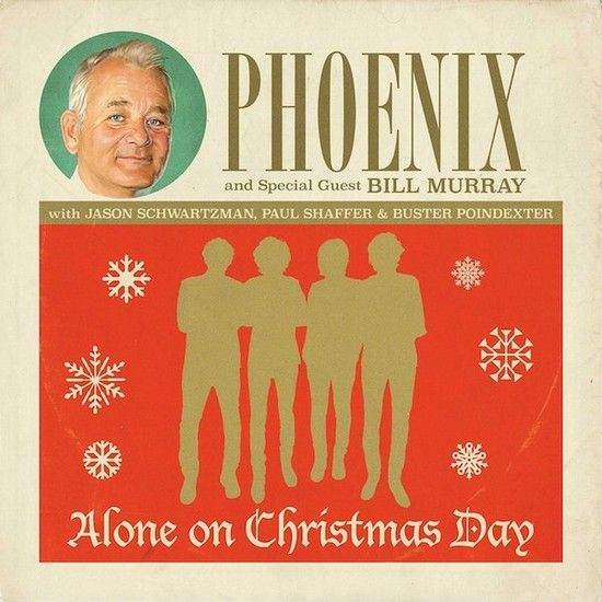 Phoenix feat Bill Murray - Alone in a christmas day
