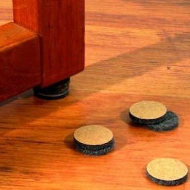 Protect Floors From Scratches With Furniture Pads