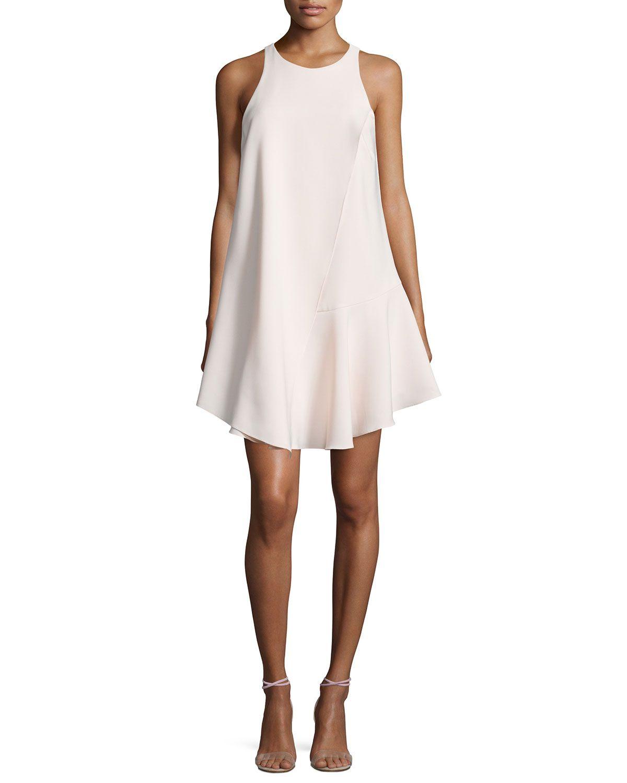 Sleeveless Flowy Cocktail Dress, Women\'s, Size: 4, Beige - Camilla ...