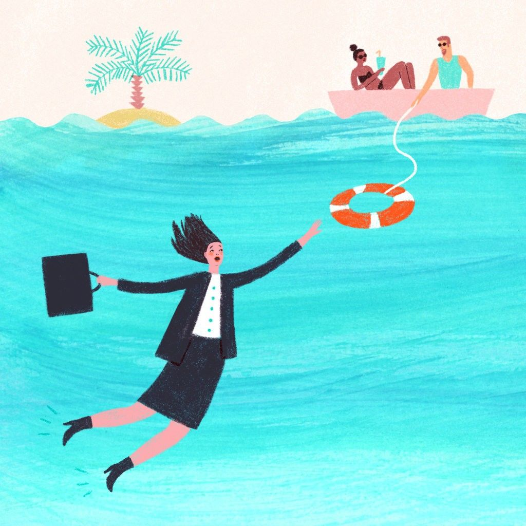 When Being Unproductive Saves a Career Career, Nonprofit