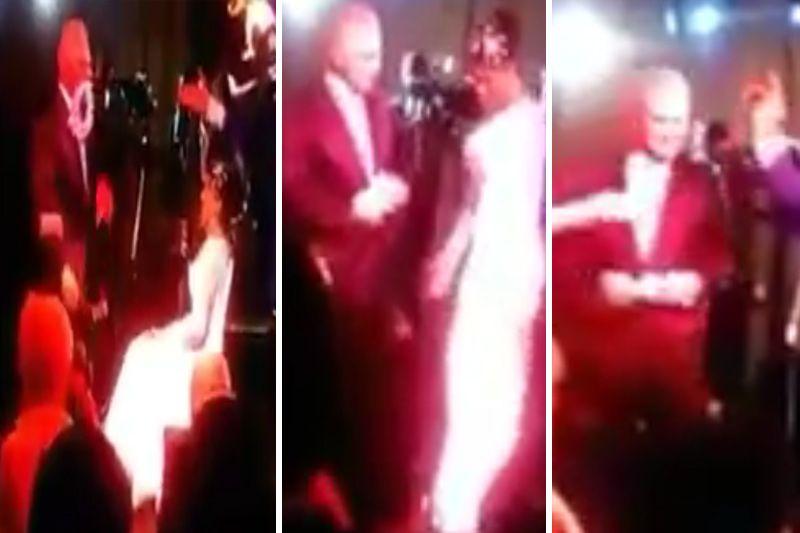 8632e4ef50 Se filtra video de la lujosa boda de Mata Figueroa  Así le quitó el liguero  a la novia