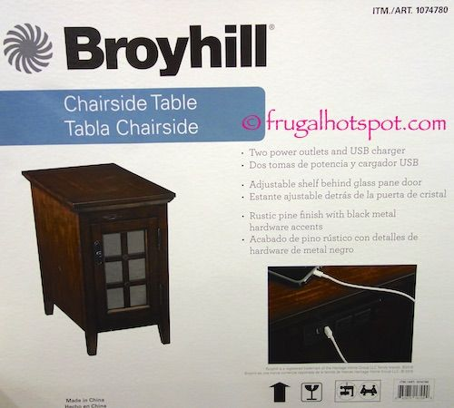 Fabulous Costco: Broyhill Chairside Table $124.99 | Frugal Hotspot | For  JV15
