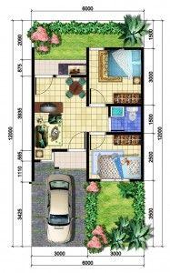 model desain denah rumah minimalis tipe http desainrumahminimalisub also best    images house layouts tiny rh pinterest