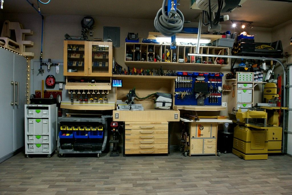Rod Relieves Stress In This Great Little Garage Workshop