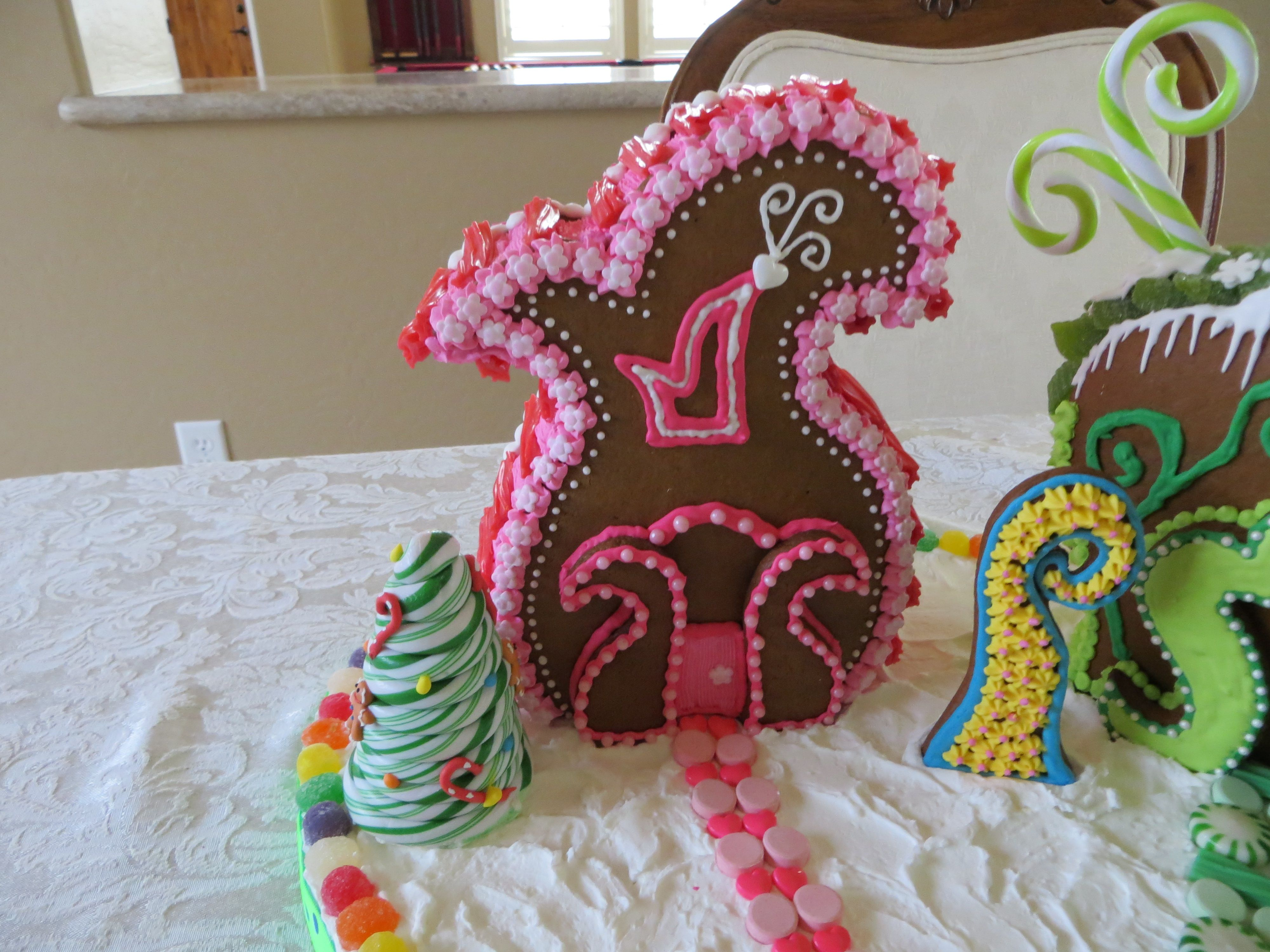 gingerbread house whoville house template  Whoville Gingerbread House Village in 5 | Gingerbread ...