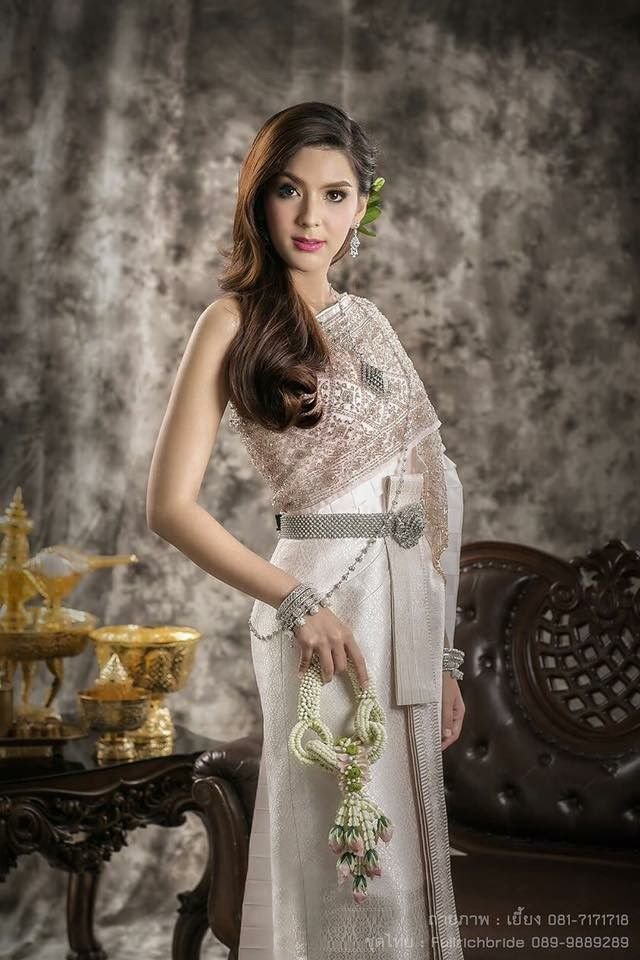 Thai Traditional Dress _ Thai Women | Thai Lady Traditional ...
