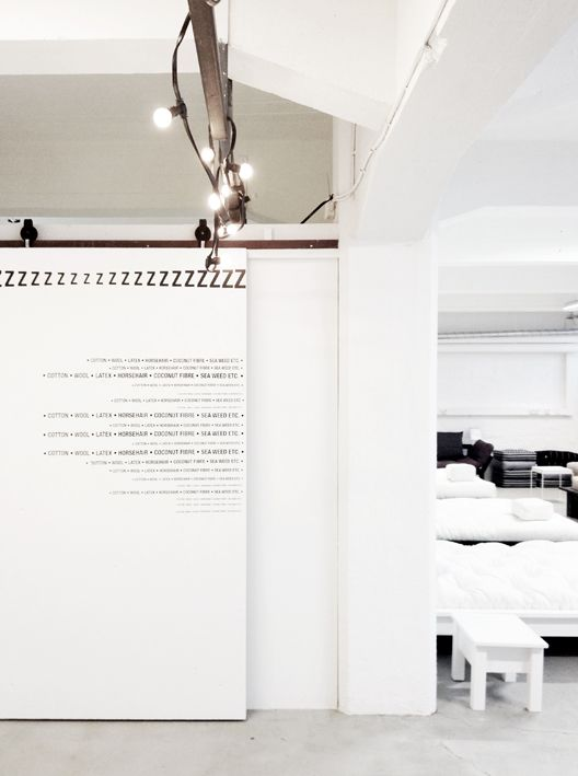 Typography on the wall