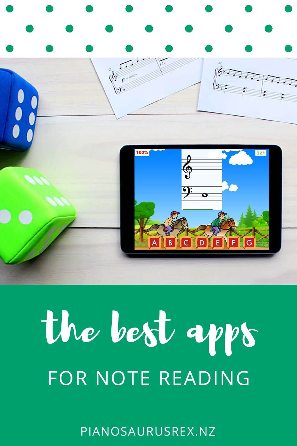 The Best Note Reading Apps For Ipad Pianosaurus Rex Online Piano Lessons Reading Apps Piano Teacher Sheet music reading app for ipad