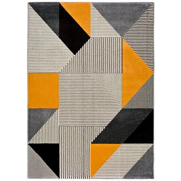 Covor Universal Gladys Duro, 140 x 200 cm, portocaliugri