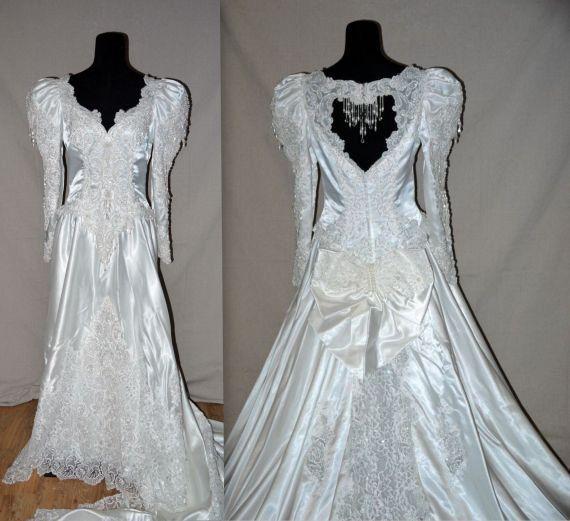 Bridal Gowns Vintage 80s