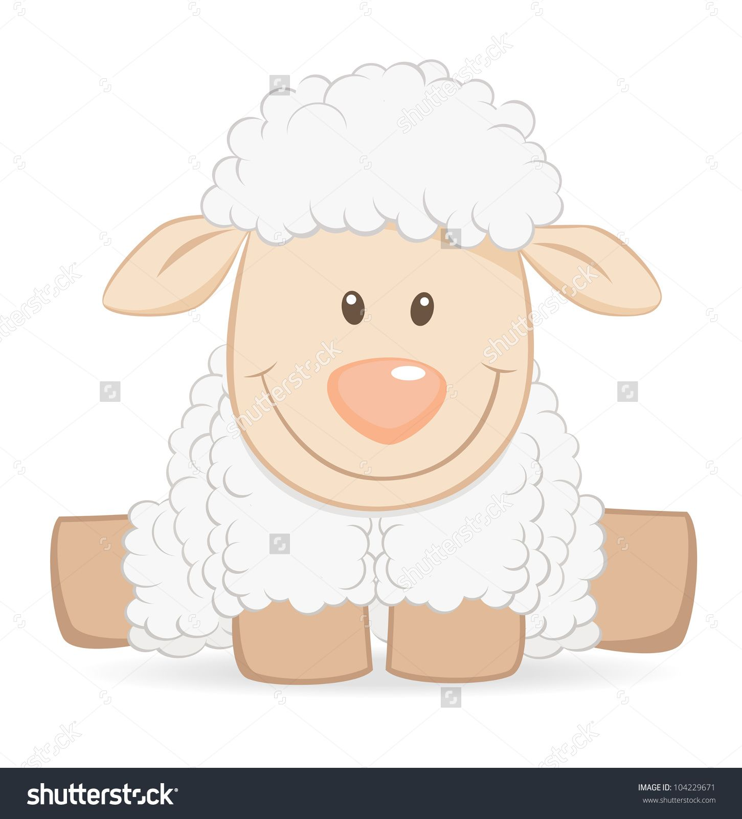 Cartoon baby sheep funny illustration | art | Pinterest | Baby ... for Baby Lamb Clipart  45gtk