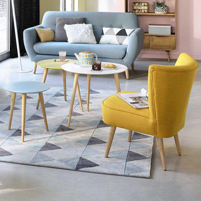 Une Table Basse Gigogne Pour Rythmer Le Salon Meuble Deco Deco