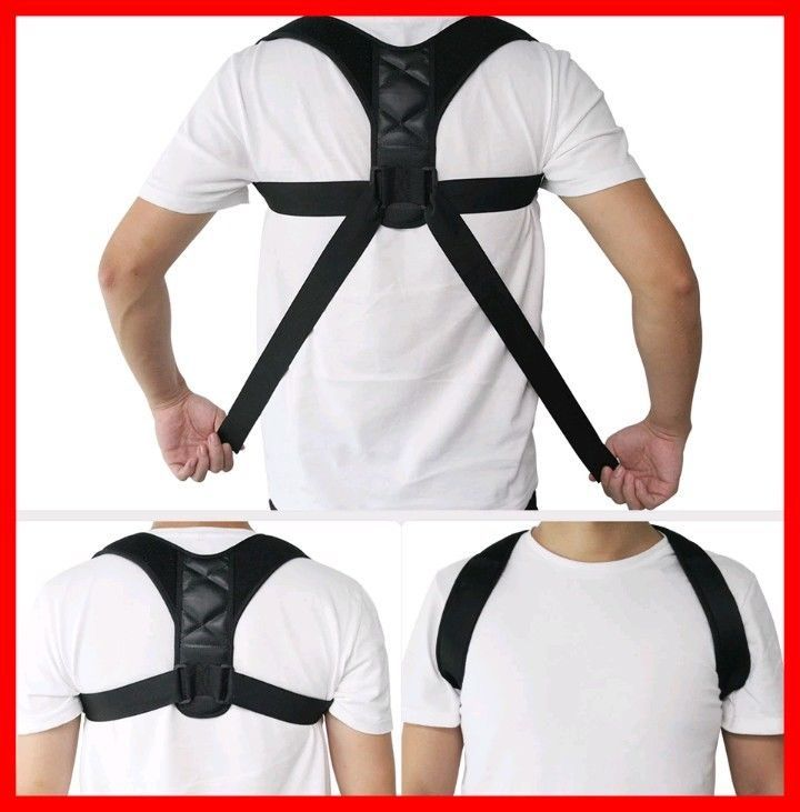 85bef5b8a Posture Corrective Therapy Back Brace For Men   Women. Body Wellness Posture  Corrector Adjustable Body Prevents Slouching( Sizes M-L)  Aptoco