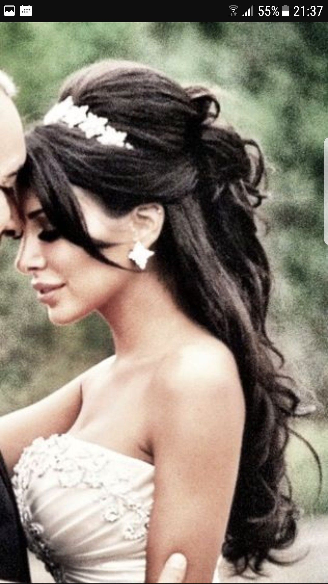 Pin By Amanda Caison On Wedding Pinterest Hair Style