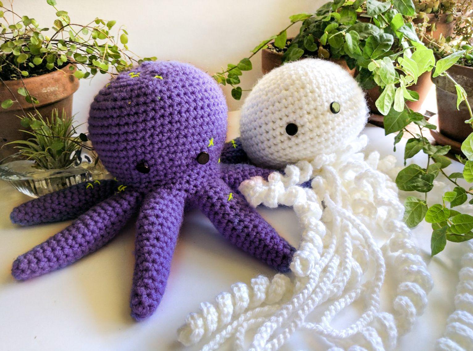 Amigurumi Jellyfish : Octopus amigurumi jellyfish amigurumi octopus jellyfish