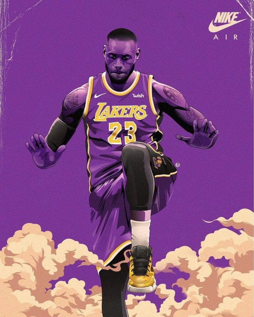 Lebron James Wallpaper 2 Lebron James Lakers Lebron James Wallpapers Nba Lebron James