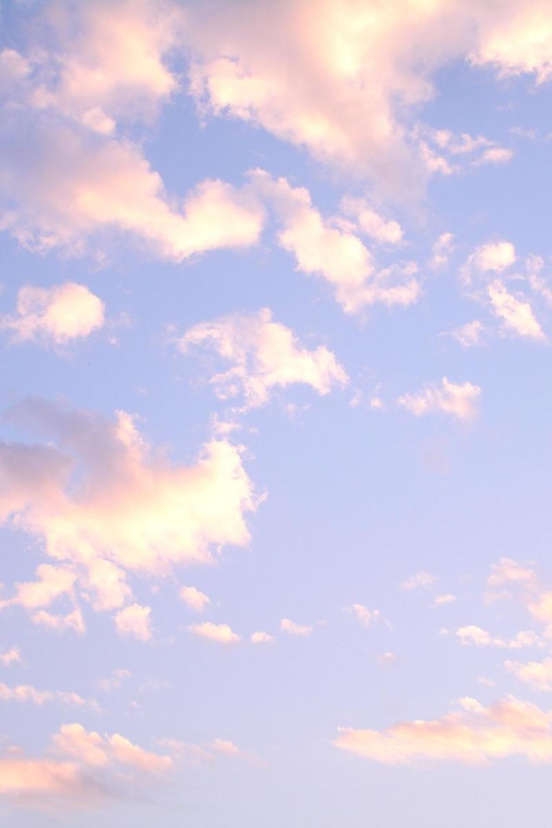 Pretty Blue Wallpaper Clouds