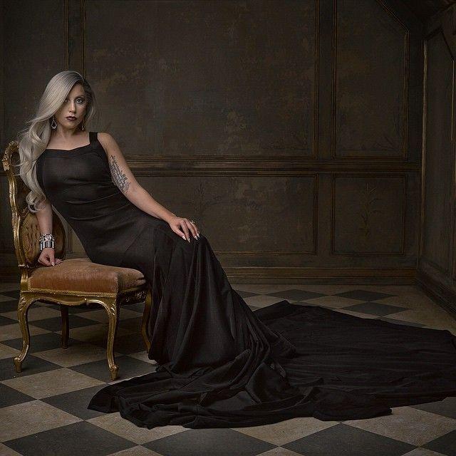 Mark Seliger Oscars photo of Lady Gaga