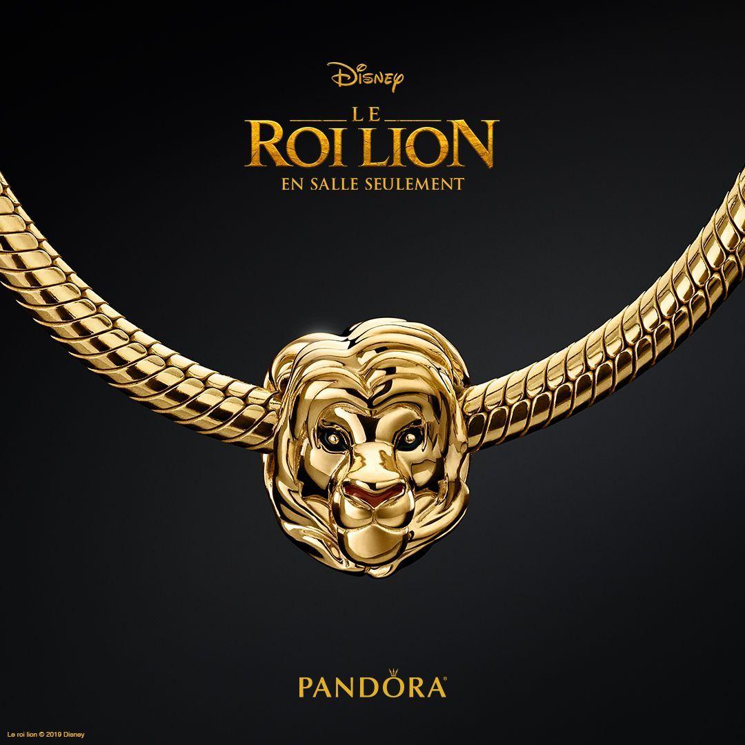 charm pandora lionne