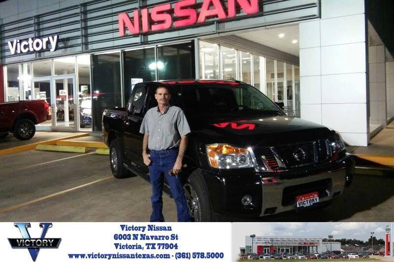 Congratulations Clifford On Your Nissan Titan From Joseph Garrett At Victory Nissan Newcar Nissan Joseph Garrett Victorious