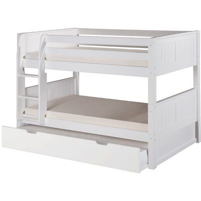 Best Bellmead Twin Over Twin Bunk Bed Bunk Bed With Trundle 400 x 300