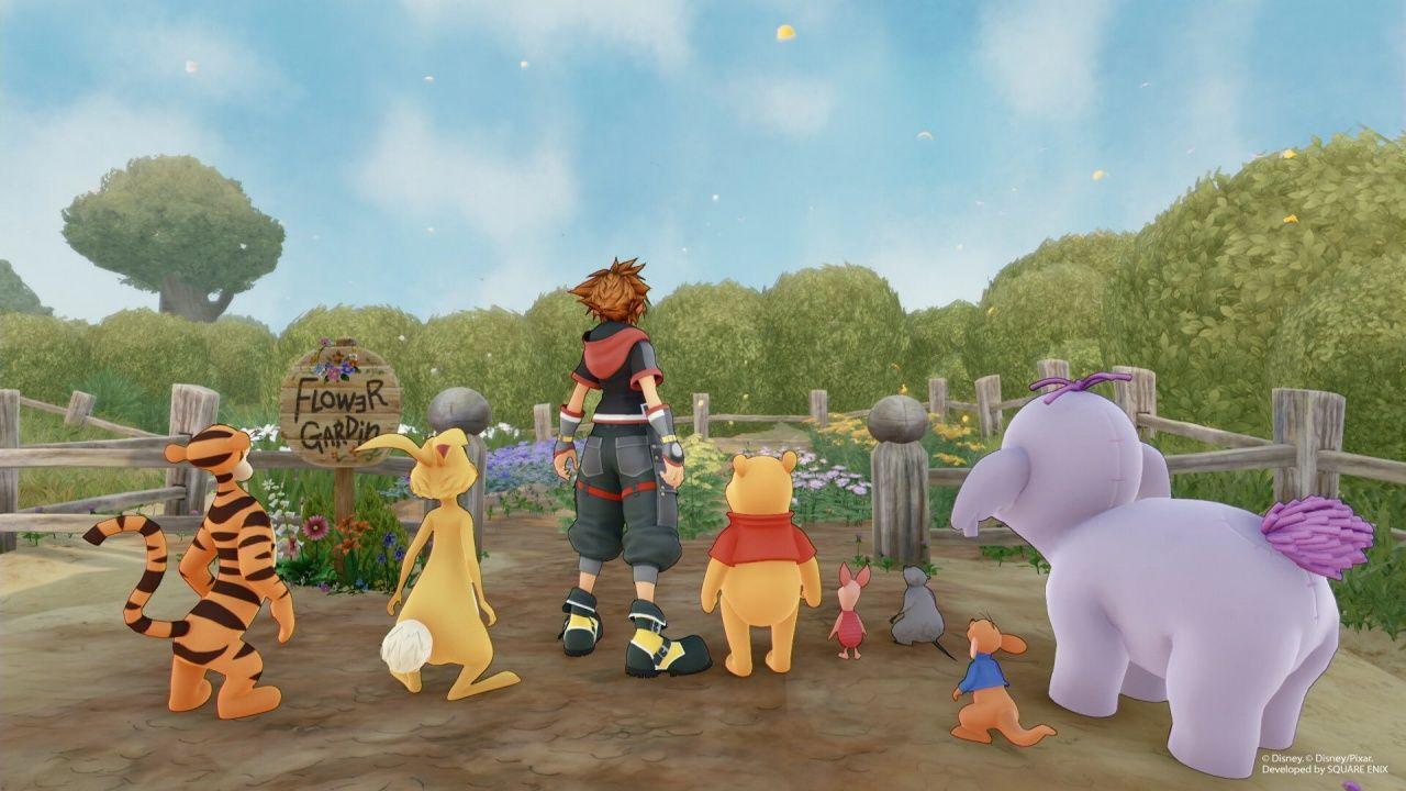 Hundred Acre Wood Kingdom Hearts In 2020 Kingdom Hearts Kingdom Hearts 3 Wood Kingdom
