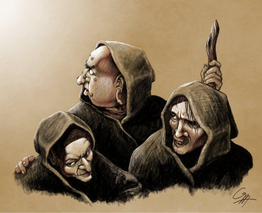 The Weird Sisters Macbeth 4
