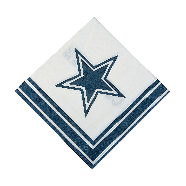 NFL Dallas Cowboys™ Luncheon Napkins OrientalTrading