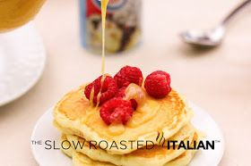 The Slow Roasted Italian - Printable Recipes: The Best Ever Fluffy Buttermilk Pancakes