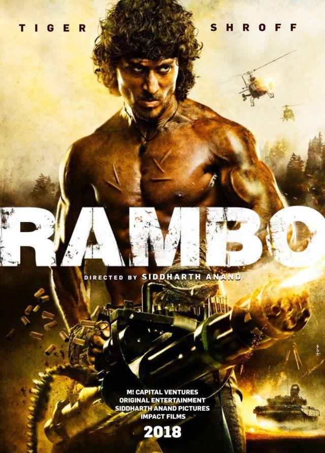 2018 Bollywood Film Rambo Release Date Cast Tiger Shroff Film Rambo