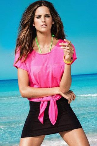 13-jan-2013 - Izabel Goulart estrela coleção primavera-verão de grife - Lifestyle - Virgula