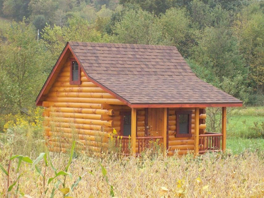 10x14 pioneer log cabin cabin pinterest log cabins cabin and logs. Black Bedroom Furniture Sets. Home Design Ideas