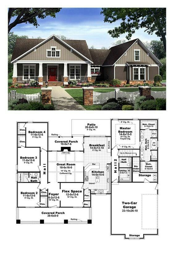 Pin By Dorian On Cool House Plans Bungalow Floor Plans Craftsman Style House Plans New House Plans
